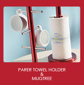 Parer Towel Holder & Mugtree