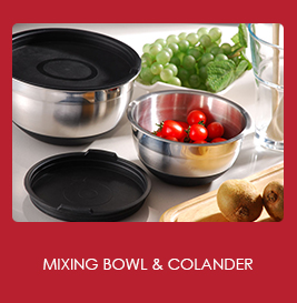 Mixing Bowl and Colander